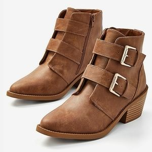 Jistice double buckle boots